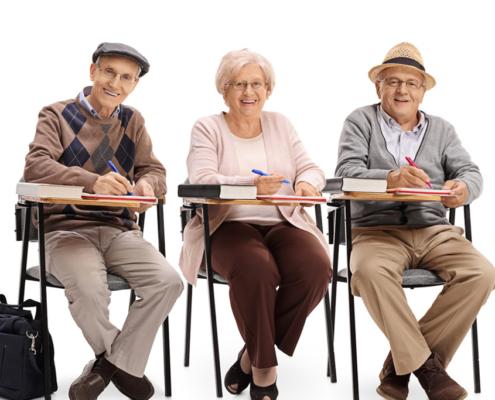 nonni a scuola